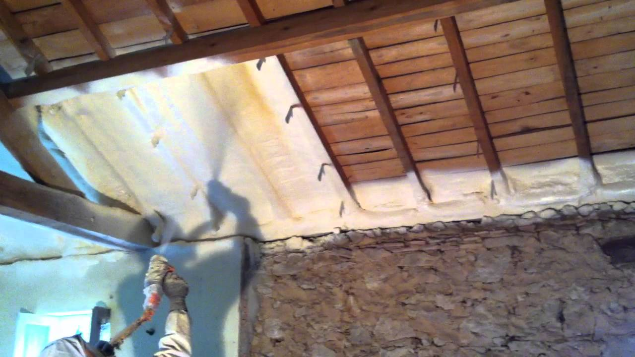 Isolation plafonds